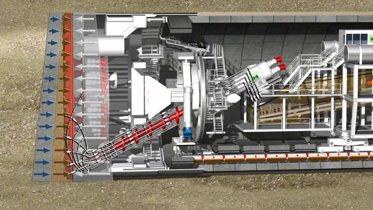 La Fresa più grande del mondo: The Tunnel Boring Machine ...