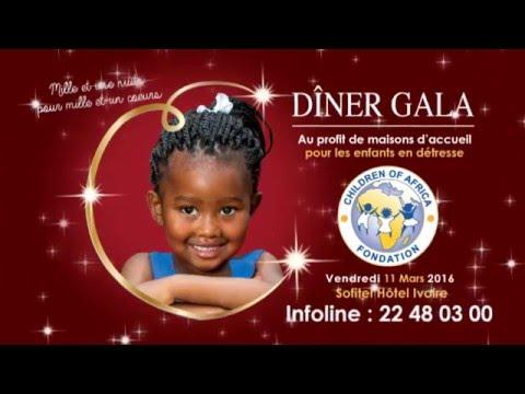 6 EME  DÎNER GALA DE LA FONDATION CHILDREN Of AFRICA