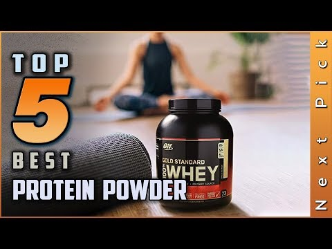 Top 5 Best Protein Powder Review in 2020