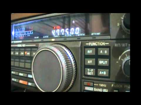Trans World Radio Africa (Manzini, Swaziland) in german and english - 4775 kHz