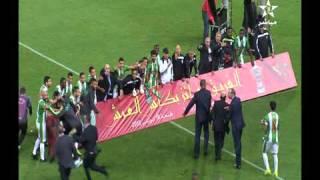 بالفيديو: المدرب التونسي أحمد العجلاني يفوز بكأس العرش المغربي مع أولمبيك خريبكة 