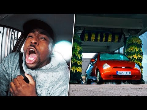 Here's What Happens When You Drive Through A Car Wash With No Windows.. (ft. Callux)