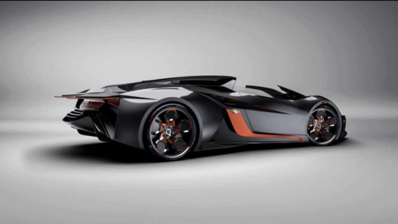 Lamborghini Diamante Concept - YouTube