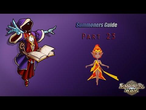 Summoners war: Гайд на рандомного монстра 3-5* (Sylphid/Сильфид) - 23 выпуск ✔