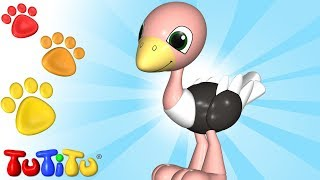 Animal Toys for Children | Ostrich | TuTiTu Animals
