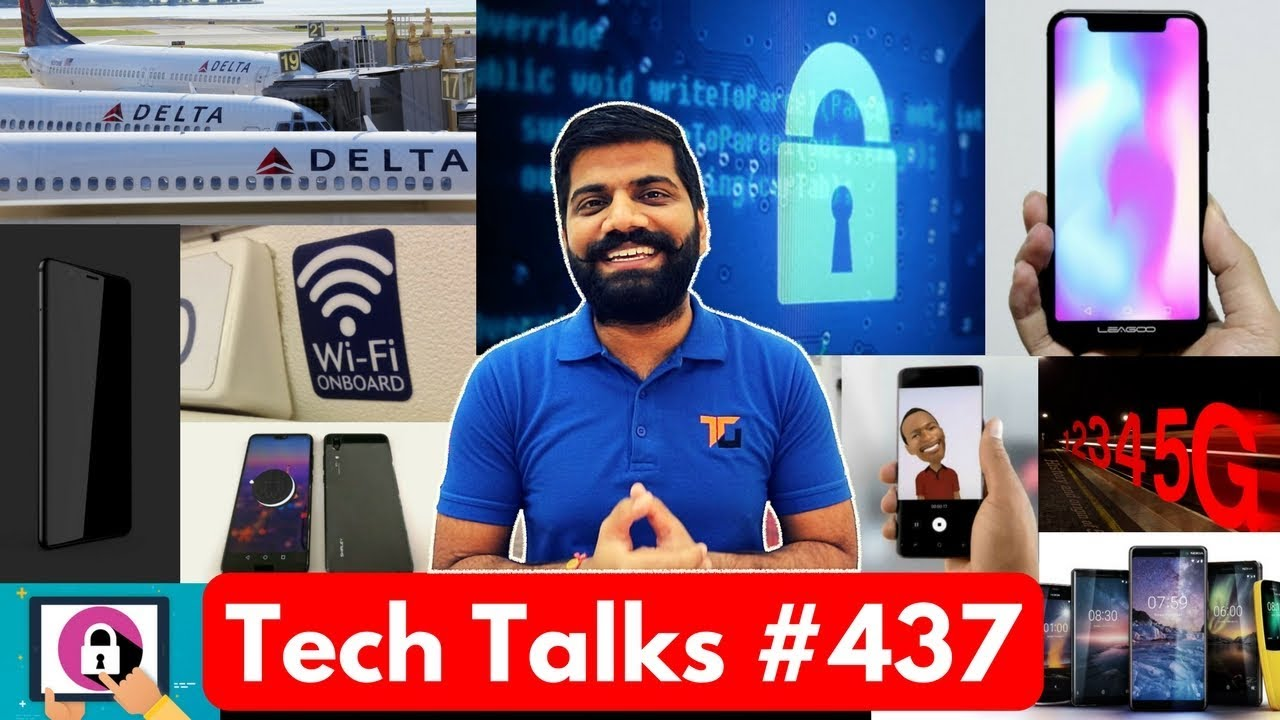 Tech Talks #437 - Galaxy S9 Price, Happy Space Suit, Leagoo S9, Snapdragon 700, Blackberry Ghost
