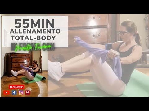 55 minuti di Ginnastica SENZA SALTI per Bruciare Calorie e Tonificare i muscoli di tutto il corpo!