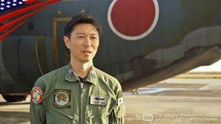 航空自衛隊 in グアム - C-130タキシング & インタビュー 【クリスマス・ドロップ作戦】