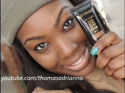 Flawless Bb Cream Tutorial Black Radiance Bb Cream Youtube