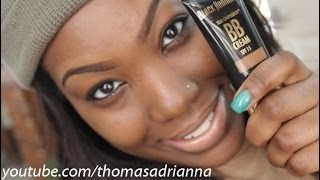 Flawless BB cream tutorial: Black Radiance BB cream