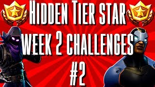 How to get a Free battle Pass Tier season 4 week 2 challenge Fortnite tier challenge #2 s4