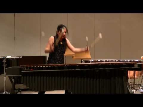 Merlin by Andrew Thomas for marimba solo