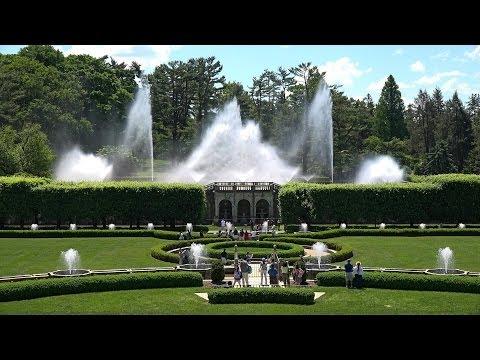 Longwood Gardens, Pennsylvania, USA in 4K (Ultra HD)