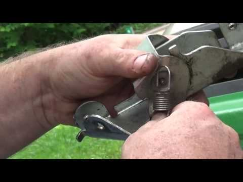 Governor Spring Location On A Briggs V Twin Briggs And