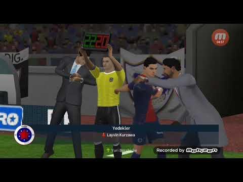 Qarabag (FK)-PSJ 2:0 medvedevun gozel oyunu (Dream league soccer 2018)
