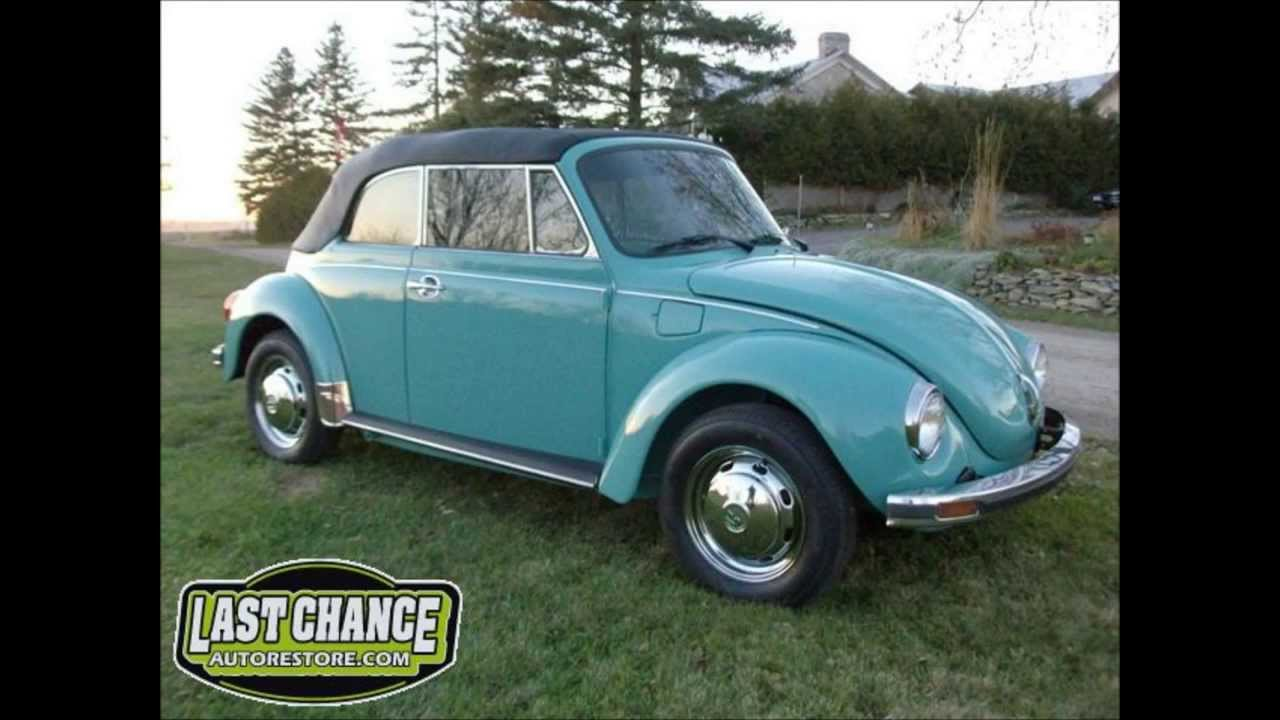 classic vw super beetle bug convertible restoration   chance auto restorecom youtube