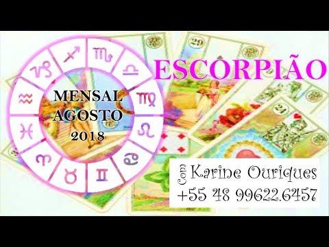 ESCORPIÃO AGOSTO/18 A Mesa Real