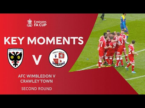 AFC Wimbledon Crawley Town Goals And Highlights