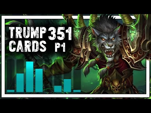 Hearthstone: Trump Cards - 351 - The Zoolock - Part 1 (Warlock Arena)