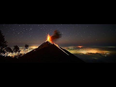 Guatemala travelling - Guatemala city - Antigua - Volcán de Fuego