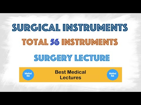 All Surgical Instruments With Their Uses
