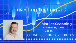 Investing techniques - screening for stocks in Japan
