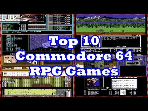 Top 10 Commodore 64 RPG's
