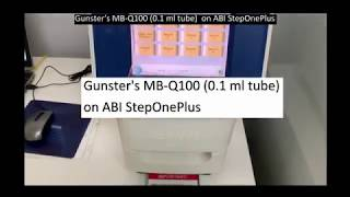 Gunster#39s MB-Q100 perfect match with ABI StepOnePlus