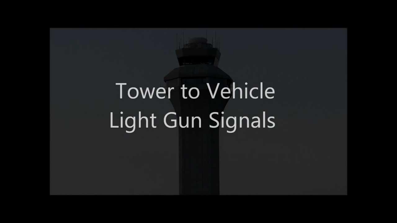 FAA Tower Vehicle Light Gun Signals