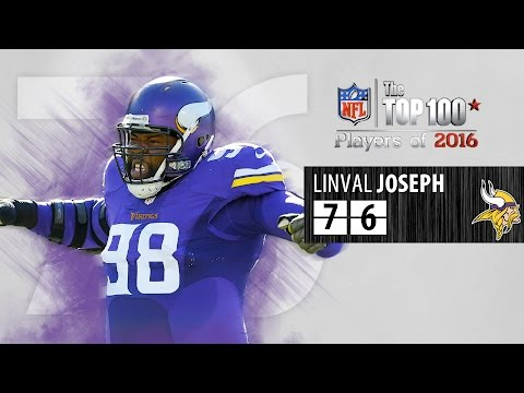 #76: Linval Joseph (DT, Vikings) | Top 100 NFL Players of 2016