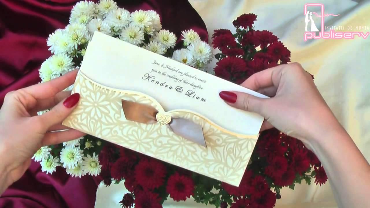Invitatii De Nunta Elegante 5463 Code Wwwpubliservro Wedding