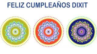 Dixit   Indian Designs - Happy Birthday