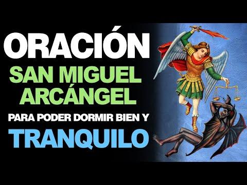 🙏 Oración Poderosa a San Miguel Arcángel PARA DORMIR BIEN Y TRANQUILO 😴