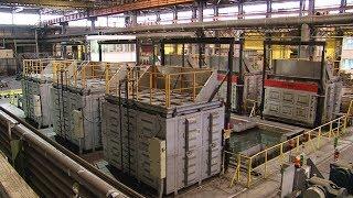 Модернизация комплекса «Электротерм» в цехе № 21 ВСМПО