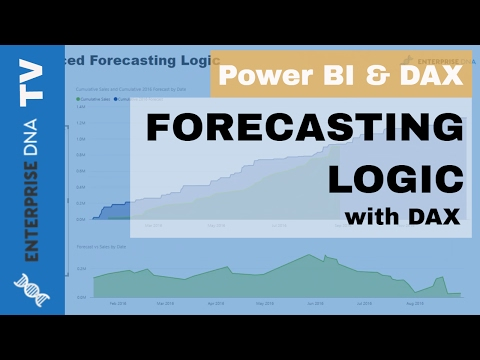 Forecasting Logic in Power BI with DAX