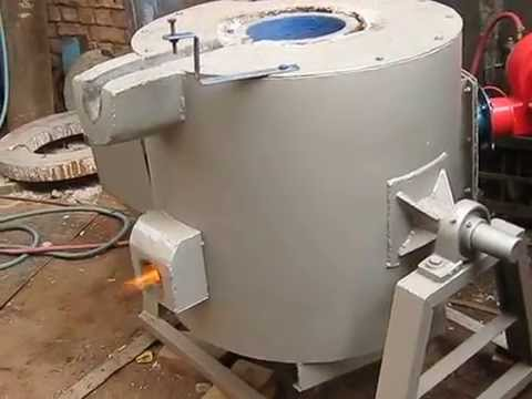 Gas Fired Melting Furnace Youtube