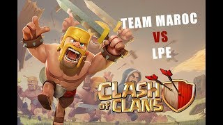 Africa Game Show - Clash of Clans - Finale LPE VS Team Maroc