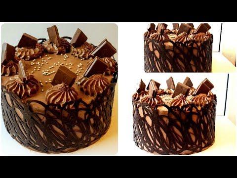 Украшение тортов : оригинальные варианты для начинающих)