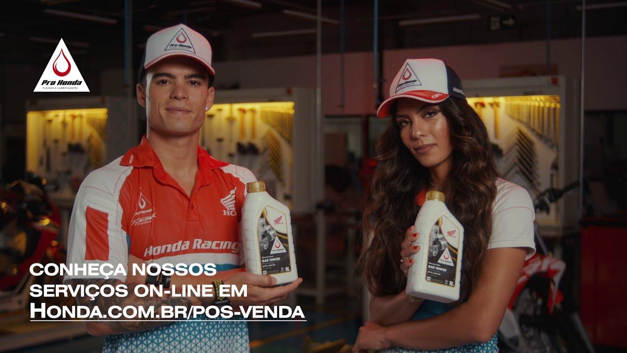 Melhor Óleo para a sua Honda | Dica da Bárbara Neves e do Eric Granado