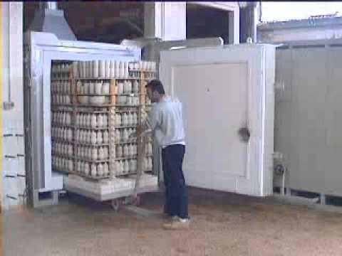 Horno ceramica pottery kiln ceramique four ideter for Calcomanias para ceramica horno