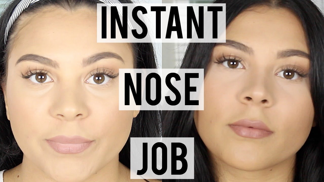 How To Contour Your Nose  Get A Slimmer Nose Instantly