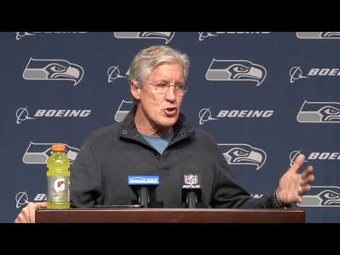 Pete Carroll End Of Year Press Conference