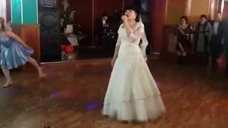 Песня мужу на свадьбе.Казахстан.Кокшетау 7 февраля 2015г.