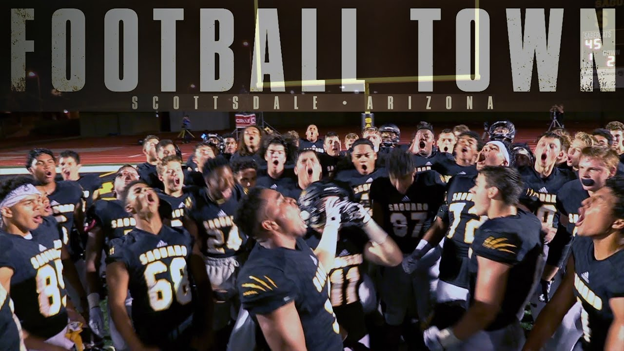 Saguaro A Team With 19 Division I Offers Football Town