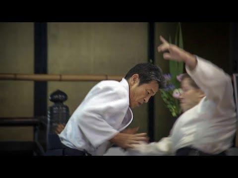 Aikido: YASUNO Masatoshi Shihan in Heian Shrine Kyoto