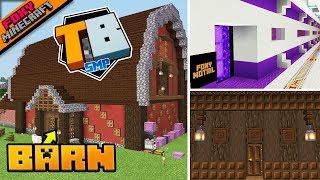 Fancy Barn & Nether Tunnels | Truly Bedrock [1-48] | Minecraft Bedrock Edition SMP (MCPE / MCBE)