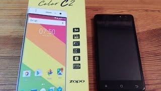 видео Обзор смартфона Zopo C2