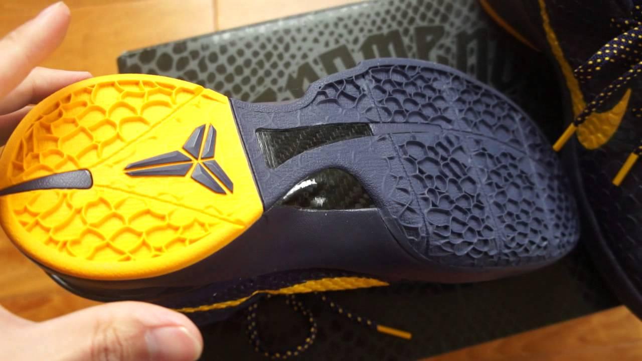separation shoes 94c9f 7f83f Nike Zoom Kobe VI
