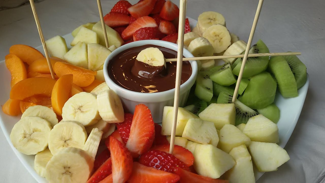 Fondue de chocolate youtube - Postres de frutas faciles ...