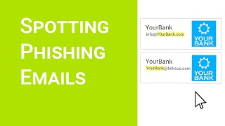 Spotting Phishing Emails